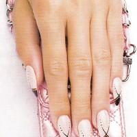 """Рисунок на ногтях """"На кончике ногтя"""""""