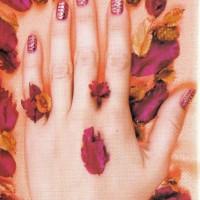 """Рисунок на ногтях """"Осенняя палитра"""""""