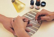 Моделирование ногтей из смолы