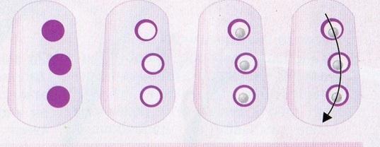 рисунки на ногтях лёгкие фото