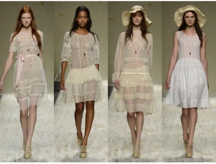 Модные платья весны 2013 года (2)