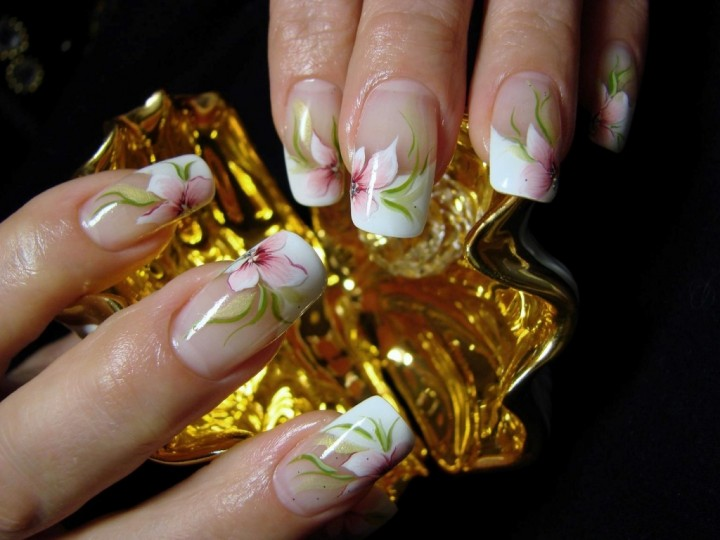 Наращивание ногтей гелем calgel (2)