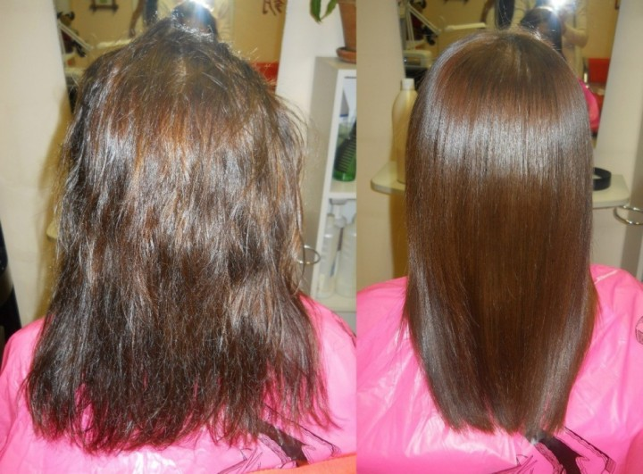 Безопасное кератиновое выпрямление волос (2)