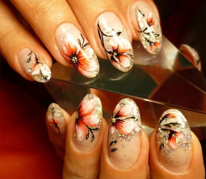 Наращивание ногтей модно и красиво (1)