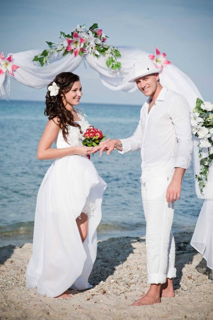 Греческий стиль в свадебном образе (1)