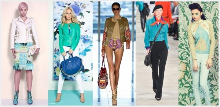 Осенняя курточная мода женственность и восторженность взглядов (3)