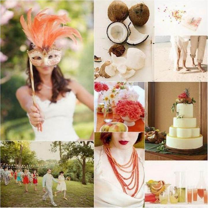 Свадьба в карнавальном стиле (2)