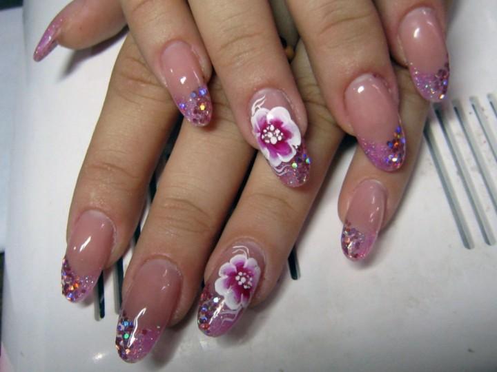 Техника дизайна ногтей, привезенная из Китая1