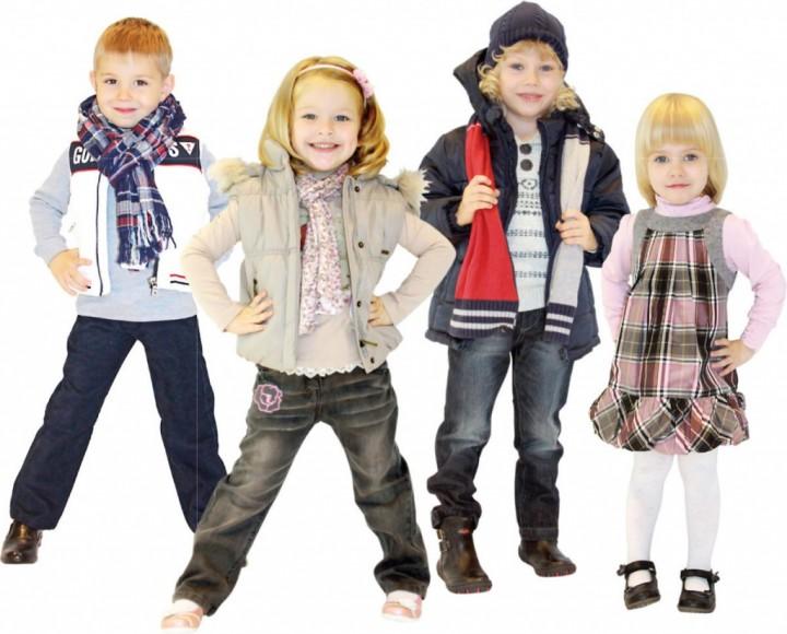Теплая и модная одежда для девочки 3