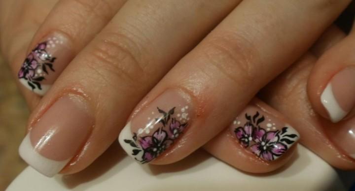 маникюра для коротких ногтей 4
