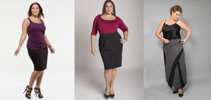 Правила подбора большой женской одежды1