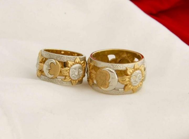 кольца из красного золота3