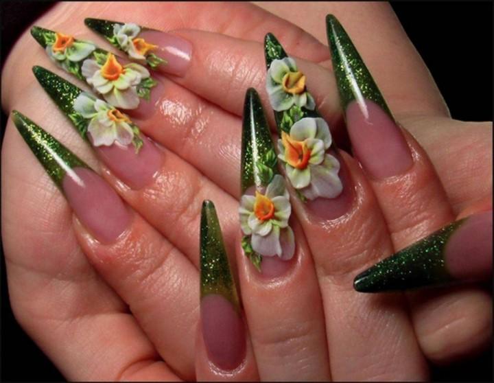 Шедевральные картины – украшение ногтевой пластины