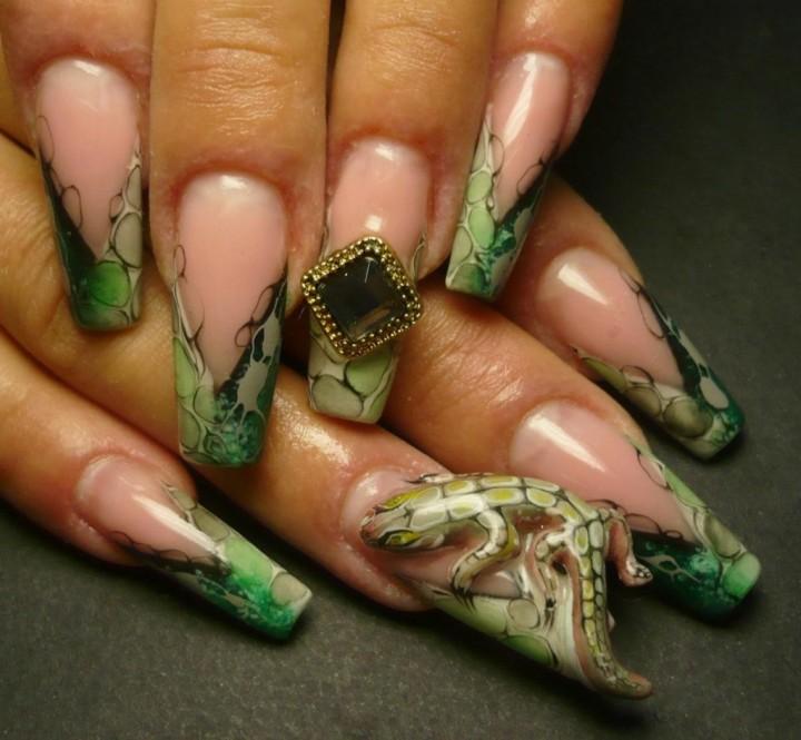 Шедевральные картины – украшение ногтевой пластины1