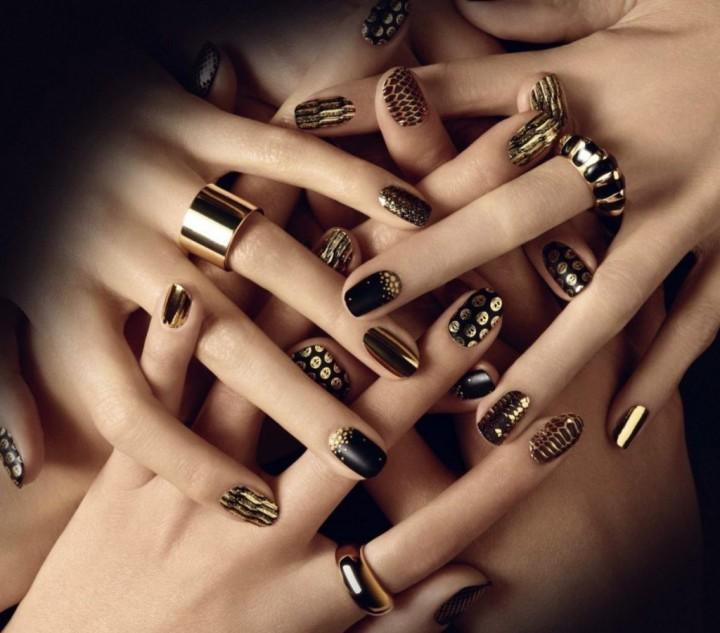 Декоративное украшение ногтей 2