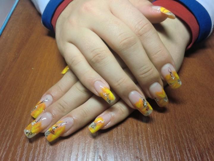 Декоративное украшение ногтей 3
