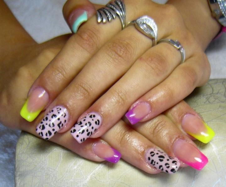 Декоративное украшение ногтей 4