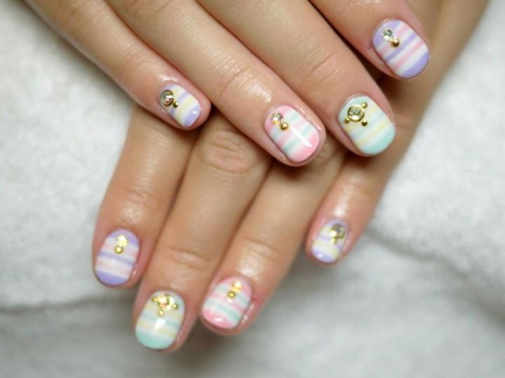 Маникюр на коротких ногтях – просто и красиво3