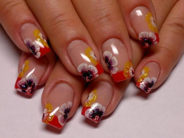 Акрил и женские ногти5