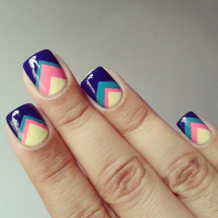 Рисунок на ногтях – это просто5