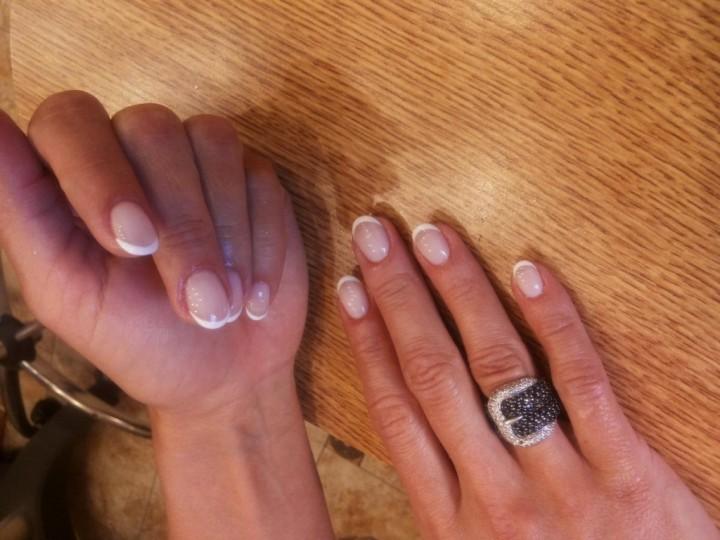 Стильные ногти: японский маникюр2