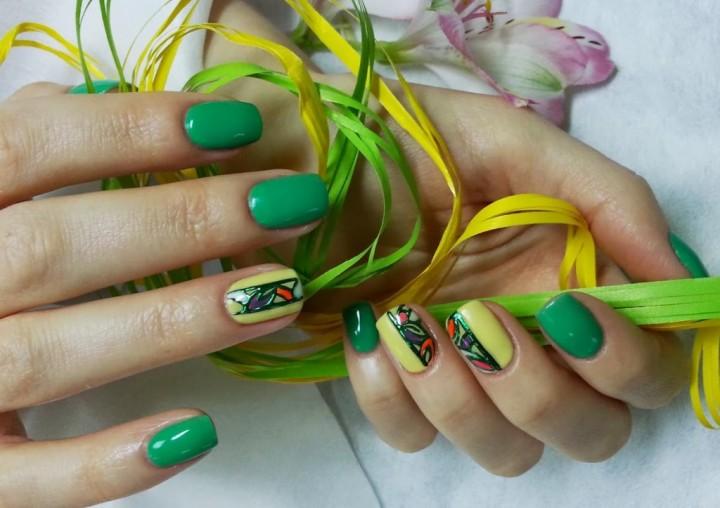 гель лак для ногтей 1