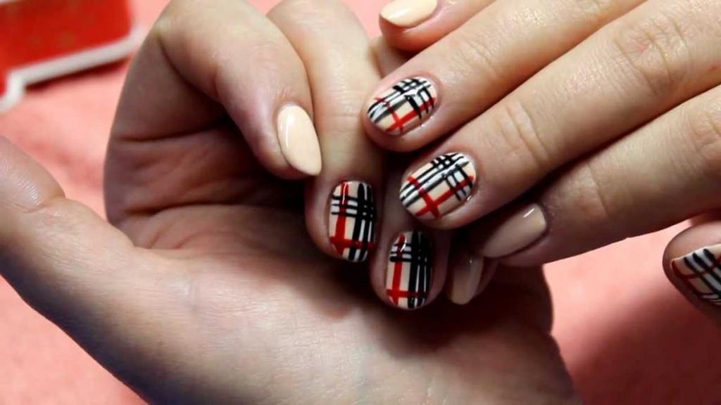 дизайн коротких ногтей гель-лак фото